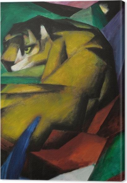 Obrazy premium Franz Marc - Tygrys - Reproductions