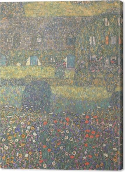 Obrazy premium Gustav Klimt - Chatka nad jeziorem Attersee - Reprodukcje