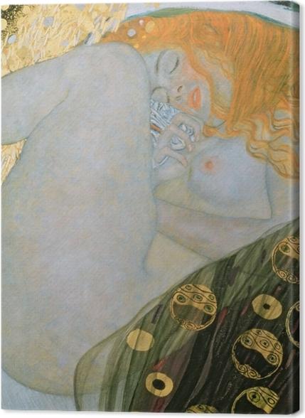 Obrazy premium Gustav Klimt - Danae - Reprodukcje