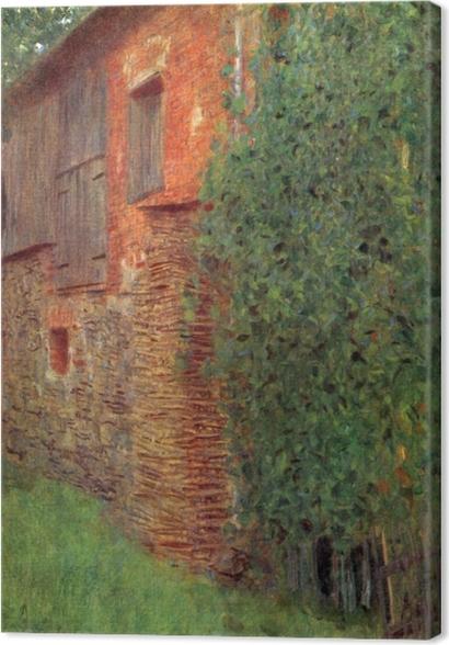 Obrazy premium Gustav Klimt - Dom w Kammer - Reprodukcje