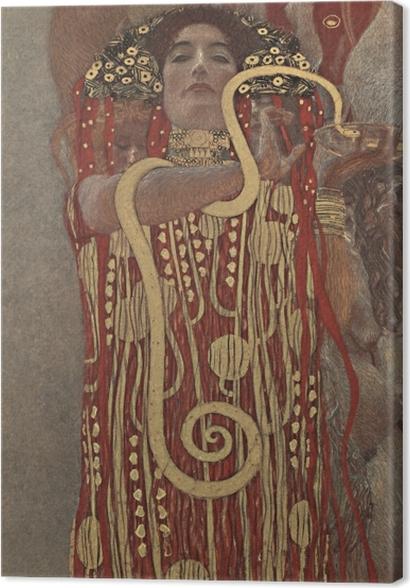 Obrazy premium Gustav Klimt - Higiea - Reprodukcje
