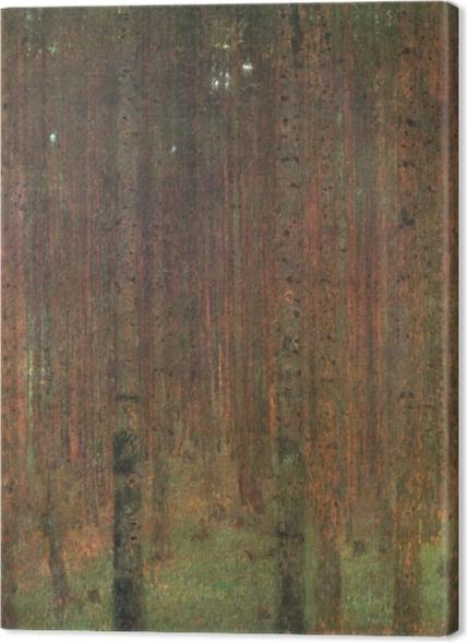 Obrazy premium Gustav Klimt - Las sosnowy - Reprodukcje