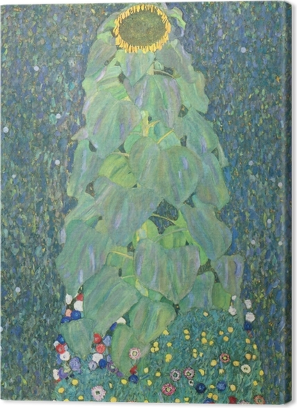 Obrazy premium Gustav Klimt - Słonecznik - Reprodukcje