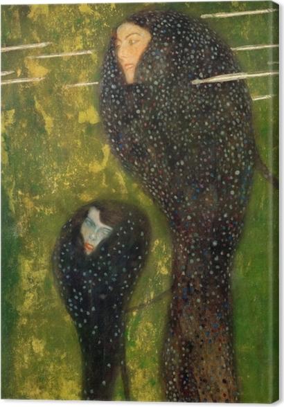 Obrazy premium Gustav Klimt - Syreny - Reprodukcje