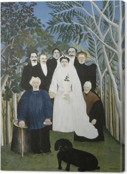 Obrazy premium Henri Rousseau - Wesele - Reprodukcje