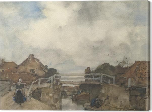 Obrazy premium Jacob Maris - Kanał w Rijswijk - Reproductions