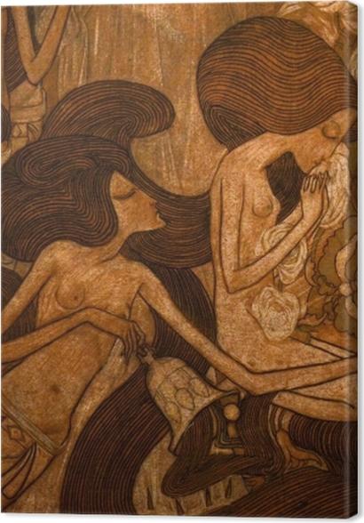 Obrazy premium Jan Toorop - Trzy panny młode - Reproductions