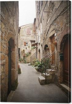 Obrazy premium Małe Backstreet we włoskiej miejscowości