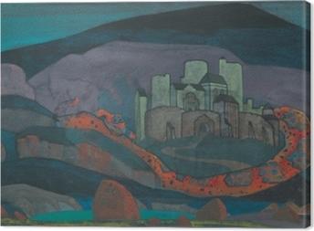 Obrazy premium Nikołaj Roerich - Potępione miasto