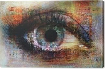 Obrazy premium Oczy tekstury