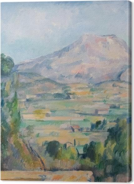 Obrazy premium Paul Cézanne - Góra Sainte-Victoire - Reprodukcje