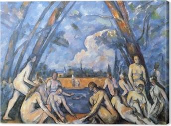 Obrazy premium Paul Cézanne - Kąpiące się