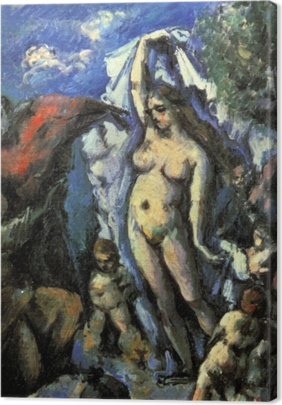 Obrazy premium Paul Cézanne - Kuszenie św. Antoniego - Reprodukcje