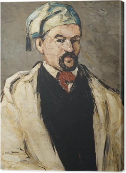 Obrazy premium Paul Cézanne - Portret mężczyzny w niebieskiej czapce - Reprodukcje
