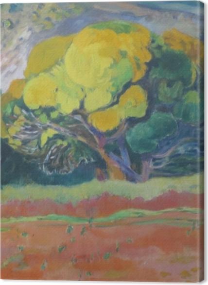 Obrazy premium Paul Gauguin - Fatata te moua (U podnóża góry) - Reprodukcje