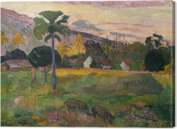 Obrazy premium Paul Gauguin - Haere mai (Chodź tu) - Reprodukcje