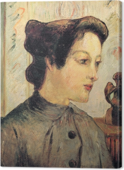 Obrazy premium Paul Gauguin - Portret młodej kobiety - Reprodukcje