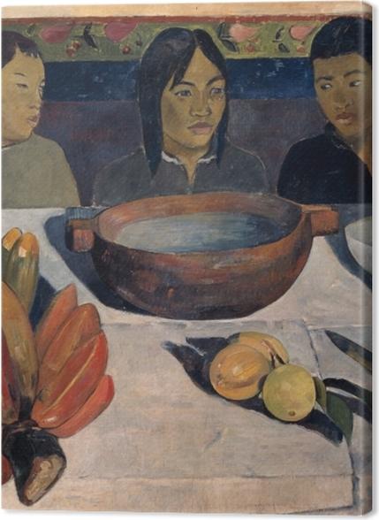 Obrazy premium Paul Gauguin - Posiłek (Banany) - Reprodukcje