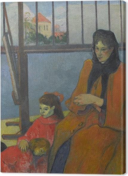 Obrazy premium Paul Gauguin - Rodzina Schuffenecker - Reprodukcje
