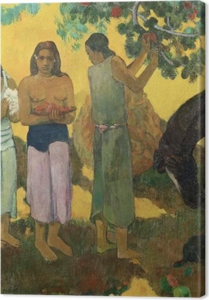Obrazy premium Paul Gauguin - Rupe rupe (Zbiór owoców) - Reprodukcje