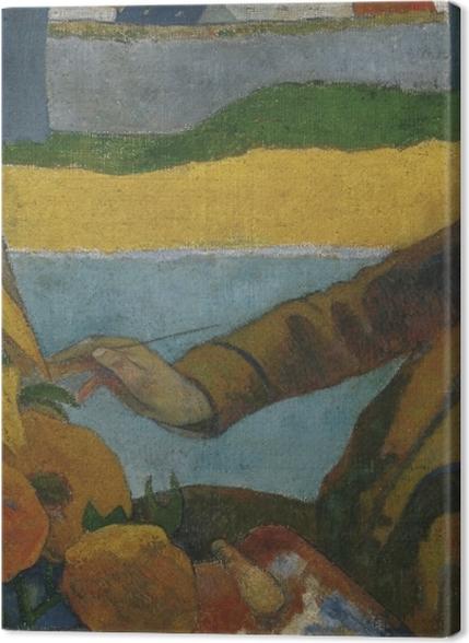 """Obrazy premium Paul Gauguin - Van Gogh malujący """"Słoneczniki"""" - Reprodukcje"""