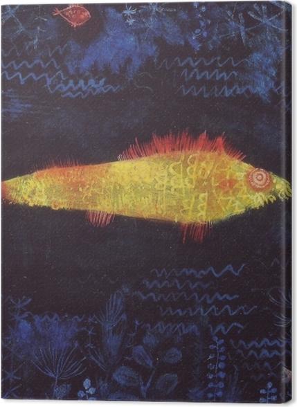 Obrazy premium Paul Klee - Złota rybka - Reprodukcje