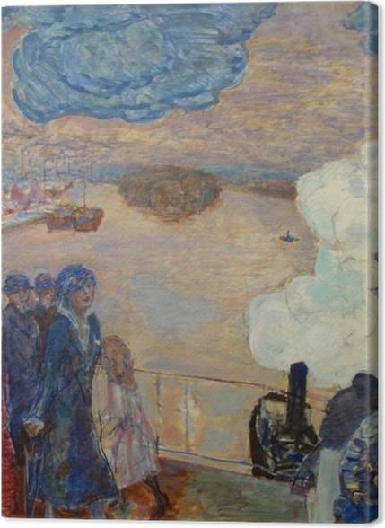 Obrazy premium Pierre Bonnard - Robotnicy - Reproductions