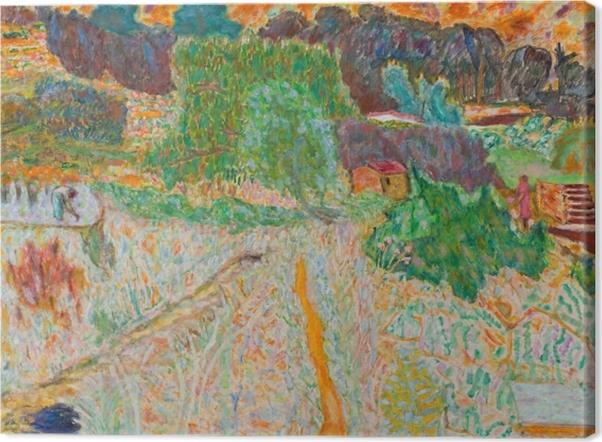 Obrazy premium Pierre Bonnard - Widok z pracowni artysty - Reproductions