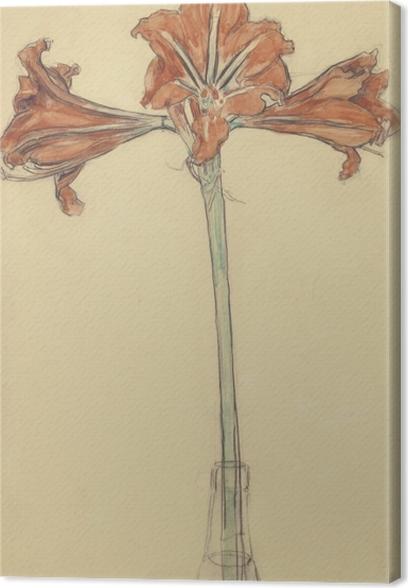 Obrazy premium Piet Mondrian - Amarylis - Reprodukcje