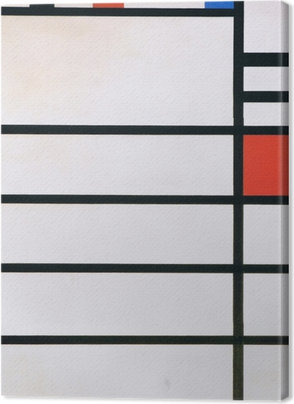 Obrazy premium Piet Mondrian - Trafalgar Square - Reprodukcje