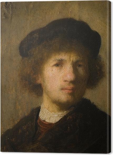 Obrazy premium Rembrandt - Autoportret - Reprodukcje