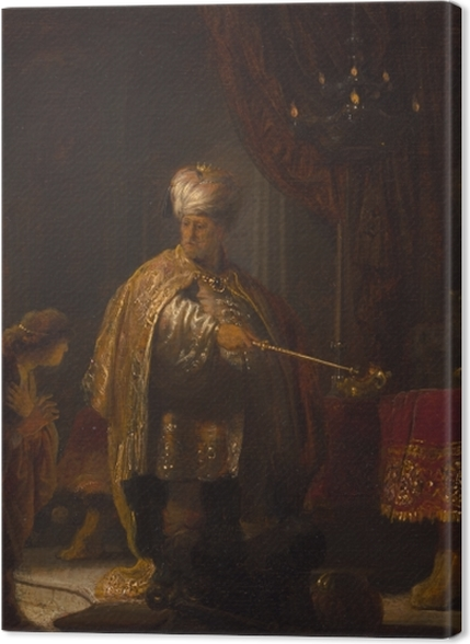 Obrazy premium Rembrandt - Daniel i Cyrus - Reprodukcje