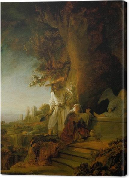 Obrazy premium Rembrandt - Noli me tangere - Reprodukcje