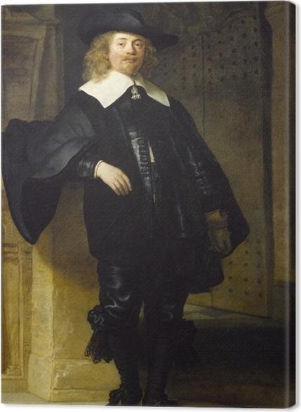 Obrazy premium Rembrandt - Portret Andriesa de Graeff - Reprodukcje