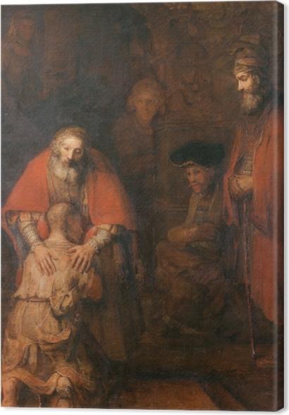 Obrazy premium Rembrandt - Powrót syna marnotrawnego - Reprodukcje