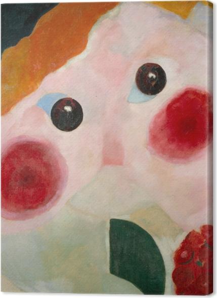 Obrazy premium Theo van Doesburg - Dziewczyna z jaskrem - Reproductions