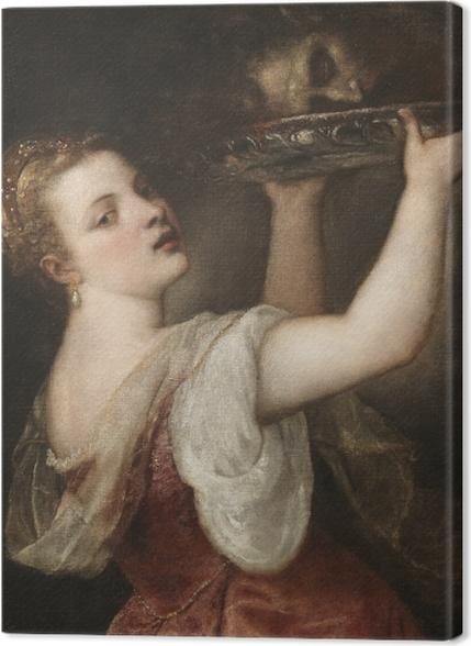 Obrazy premium Tycjan - Salome z głową Jana Chrzciciela - Reprodukcje