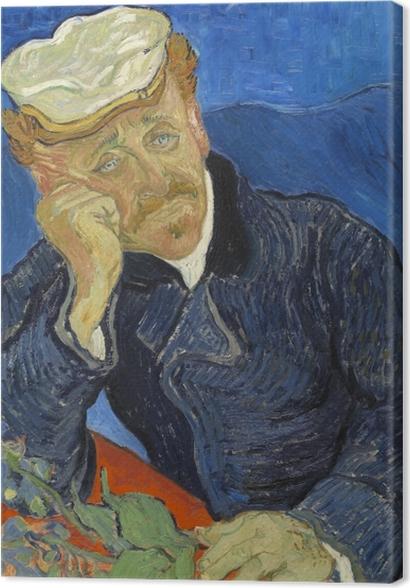 Obrazy premium Vincent van Gogh - Dr. Paul Gachet - Reproductions