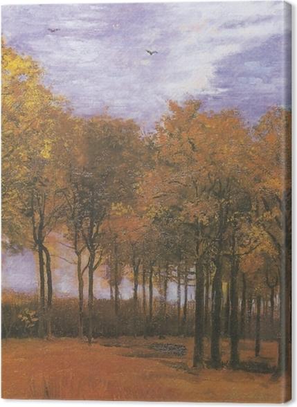 Obrazy premium Vincent van Gogh - Jesienny krajobraz - Reproductions