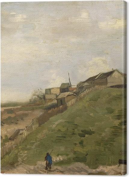 Obrazy premium Vincent van Gogh - Kamieniołom na wzórzu Montmartre - Reproductions