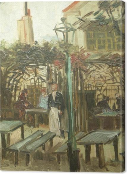 Obrazy premium Vincent van Gogh - La Guinguette - Reproductions
