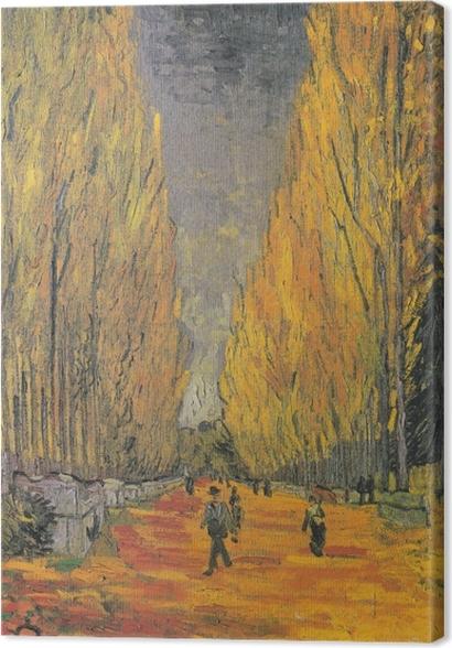 Obrazy premium Vincent van Gogh - Les Alyscamps - Reproductions