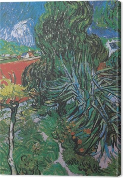 Obrazy premium Vincent van Gogh - Ogród dr. Gacheta w Auvers - Reproductions