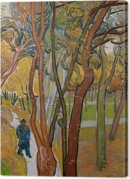 Obrazy premium Vincent van Gogh - Opadające liście - Reproductions