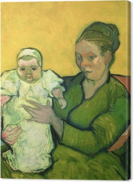 Obrazy premium Vincent van Gogh - Pani Roulin z synkiem Marcellem - Reproductions