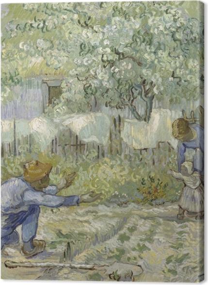 Obrazy premium Vincent van Gogh - Pierwsze kroki - Reproductions