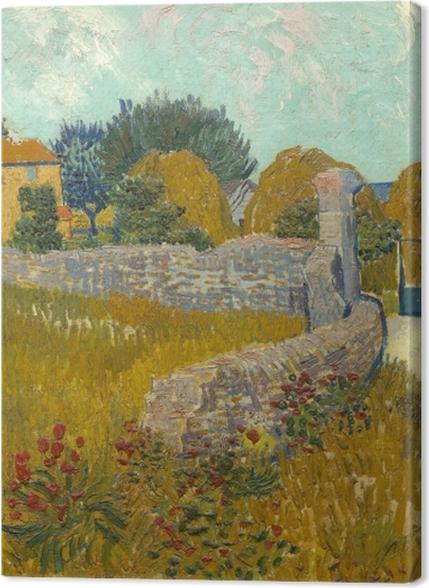 Obrazy premium Vincent van Gogh - Pole ze zbożem - Reproductions