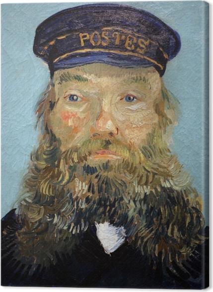 Obrazy premium Vincent van Gogh - Portret listonosza Józefa Roulina - Reproductions
