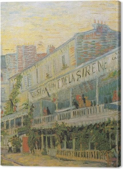 Obrazy premium Vincent van Gogh - Restauracja Syrena w Asnieres - Reproductions
