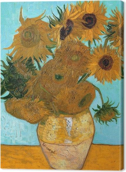 Obrazy premium Vincent van Gogh - Słoneczniki - Reproductions